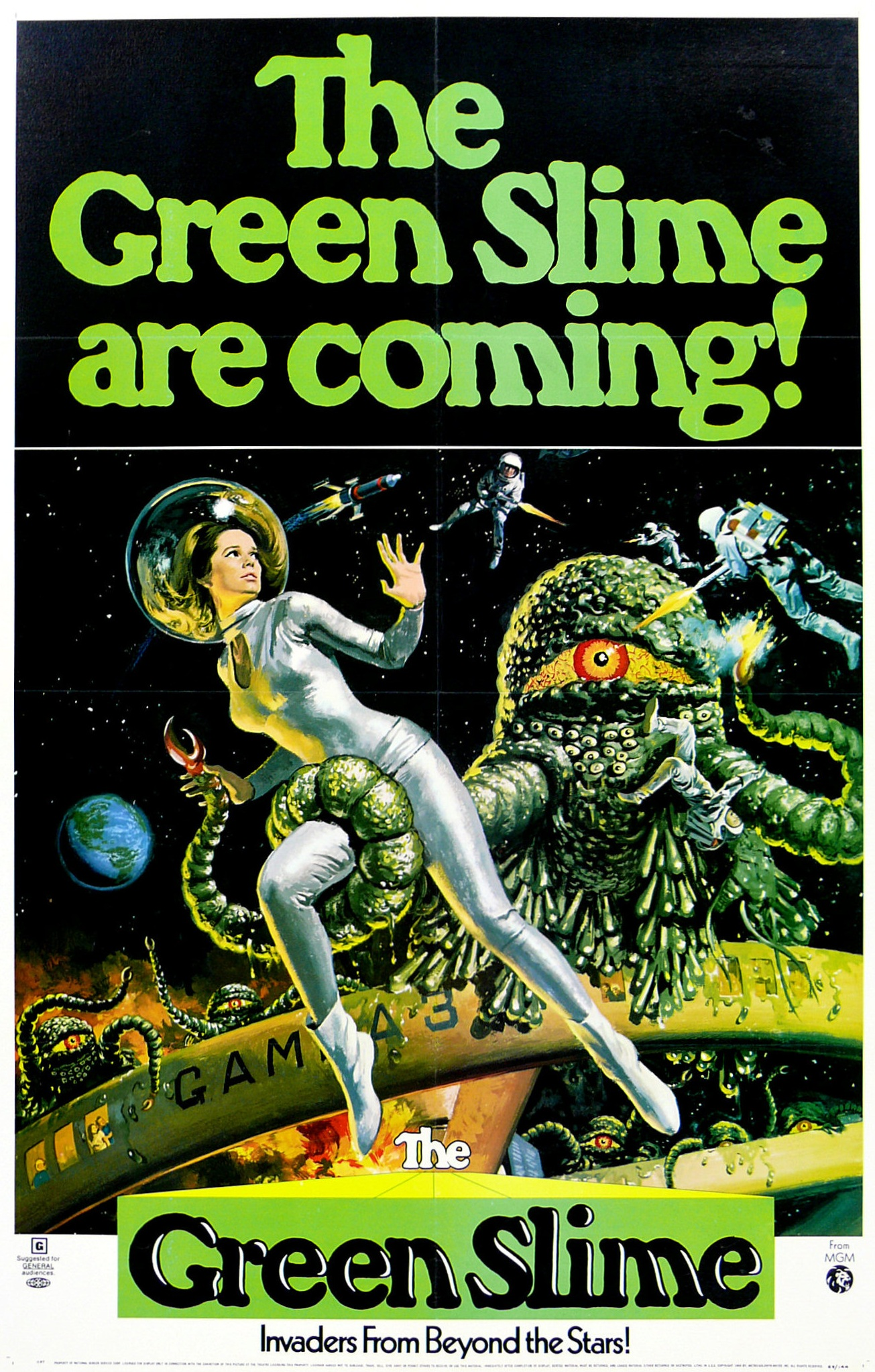Monster aus dem All – The Green Slime